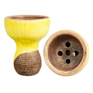 Чашка karma турка желтый